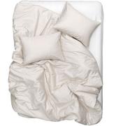 Bettwäsche aus Baumwollsatin
