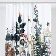 Baumwoll-Duschvorhang 'Garten Eden'