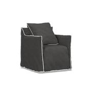 Kleiner Sessel 'Ghost' mit Husse