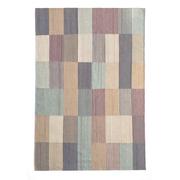 Teppich 'Blend' mit Farbflächen