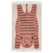 Tiger-Teppich 'Dajala'