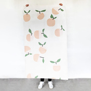 Baumwollteppich 'Peach'