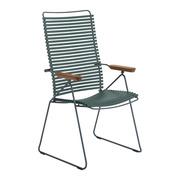 Einzelstück: Stuhl 'Click' mit verstellbarer Lehne