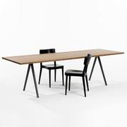 Tisch 'Podia' mit V-Beinen
