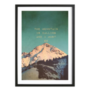Bild 'Mountain Is Calling'