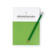 Notizbuch 'Grüner Daumen'