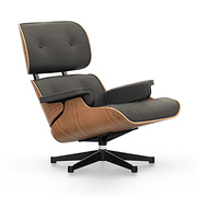 'Eames Lounge Chair' in pflanzlich gegerbtem Leder
