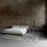 Stoffbezogenes Bett 'Neowall'