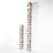 Bis zur Decke: Büchersäule 'Ptolomeo Wall'