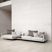 Sofa 'Maho' mit Chaise Longue
