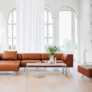 Grosses Sofa 'Delphi' in Leder