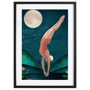 Schwimmen im Mondschein: Bild 'Dive'