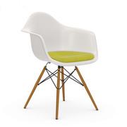 Eames Plastic Armchair 'DAW' mit Sitzpolster