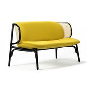 Elegantes Sofa mit Wiener Geflecht
