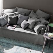 Tiefes Sofa 'Ghost' mit Husse