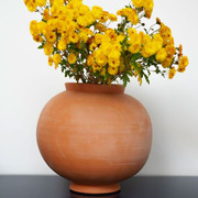 Terrakotta-Vase 'Slimane'