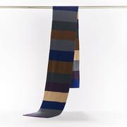 Für Sie & Ihn: Gestreifter Schal aus Merinowolle