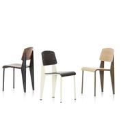 Stuhl 'Standard' von Jean Prouvé