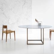 Tisch 'Jewel' mit Marmorplatte
