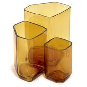 Kunstvoll geformte Vase 'Silex'