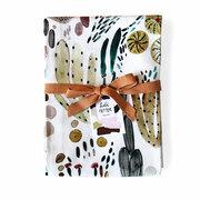 Küchentücher mit handbemalten Prints