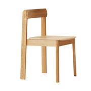 Massivholzstuhl 'Blueprint Chair'