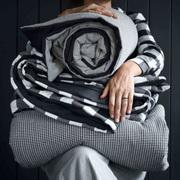 Einzelstück: Quilt mit verschiedenen Mustern