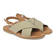 Sandalen im Materialmix von 'Angulus'