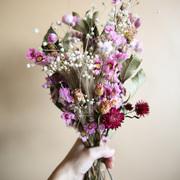 Trockenblumenstrauss 'Lilac'