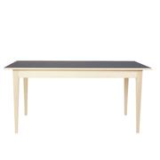 Tisch 'Linum' mit Linoleumoberfläche