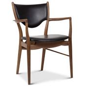 '46 Armchair' in Leder
