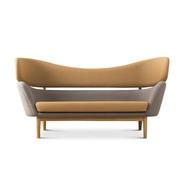 Skulpturales Sofa 'Baker'