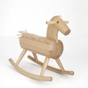 'Mokuba' Holz - Schaukelpferd