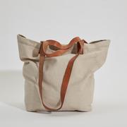 'Bolso Paseo'-Shopper in Nature/Honigbraun