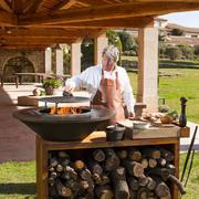 Grill-Outdoor-Kücheninsel