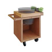 Kleine Grill-Outdoor-Küche 'Kamado Table Pro 65'