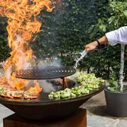 Grillrost für Outdoor-Küche