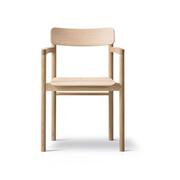 'Post Chair' mit Armlehnen