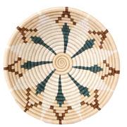 Handgefertigte Schale aus Sisal