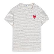 Fein gestreiftes Shirt von 'Closed' in Ivory