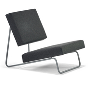 Lounge Chair 'Hirche' in Stoff