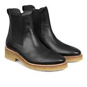 Schwarze Lieblings-Chelsea-Boots mit Kreppsohle