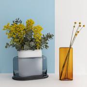 Breite Vase 'Layers'