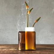 Hohe Vase 'Layers'
