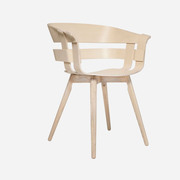 'Wick Chair' mit Holzbeinen