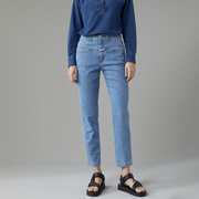 Kult-Jeans 'Pedal Pusher' in Midblue