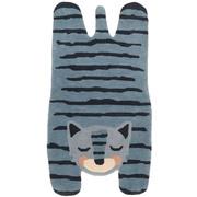 Kinderteppich 'Blue Tiger'