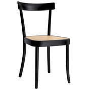 'Moser' Stuhl mit Joncgeflecht