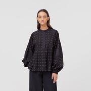 Weite Bluse von 'Closed' in Black