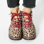 Lederschuhe Town 3 von 'Ammann Shoes' in Leopard